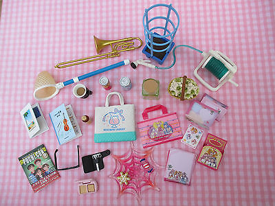 Re-Ment Girls Stationery Flowers Food Christmas Music Make-Up Lot LOWERED PRICE