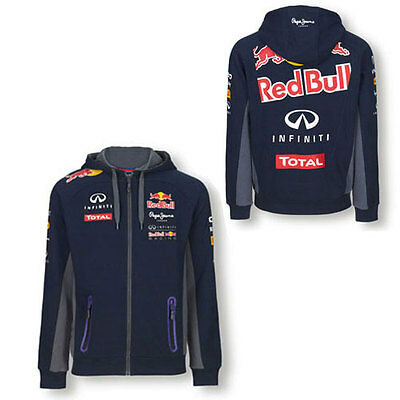 Infiniti Red Bull Racing F1 Mens Team Hoodie Jumper Sizes S M Xl