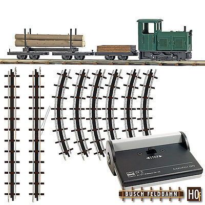 Busch HOF 12003 Forest Railway Start Set #NEW ORIGINAL PACKAGING #