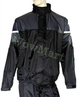 NEW Motorbike Workwear Cycling Windproof Waterproof Raincoat Rain Jacket Grey
