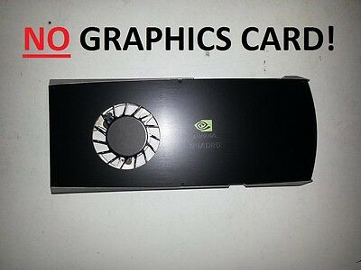 PNY NVIDIA Quadro FX 3800 Grafikkarte Lüfter Kühler/Graphics card fan cooler NEW