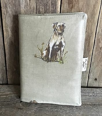 A5 Diary Cover,Journal Cover,Nurses Diary Cover,Page To View,Pooch Oilcloth