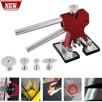 Paintless Dent Repair Glue Puller Hand Lifter PDR Tool with 4PC Glue Puller Tab