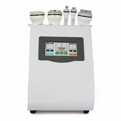 Used 5In1 Cavitation Radio Frequency Equipment Ultrasonic Liposuction Slimming