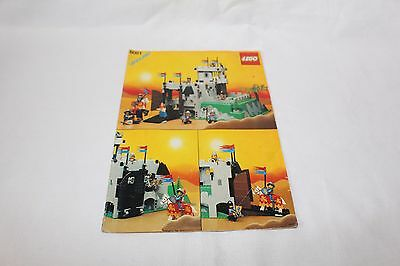 6081 LEGO Castle King's Mountain Fortress Instruction Manual ONLY