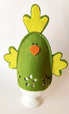 4 x Green Chick Design Boiled Egg Warmer Cover FREEPOST from/to UK