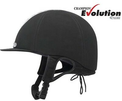 9f83345956f5e CHAMPION VENTAIR EVOLUTION Riding Hat   Helmet Kitemark PAS015 54cm Black -  EUR 102