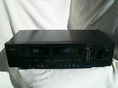 TEAC Stereo Double Cassette Deck