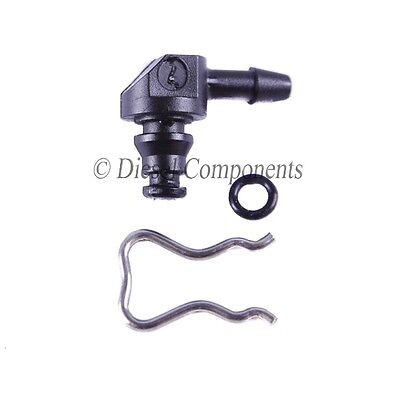 Ford Common Rail Diesel Injector Leak Off Pipe Connector Bosch (90°)