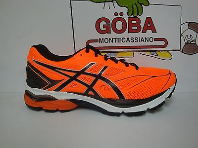 ASICS GEL-PULSE 8 shocking orange/black/white