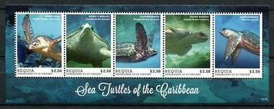 Bequia grenada Grenadines 2012 turtles klb MNH