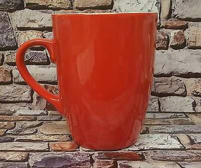 Two Tone Red Coffee Mugs (Sold In 36's) Or Buy Job Lot