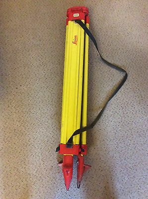 Leica GST20-9 Surveying Wooden Tripod - Surveying Equipment