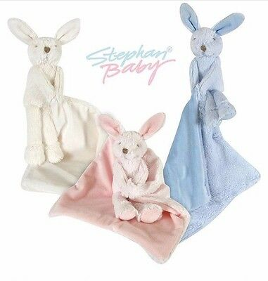 Little Bunny Lovie Security Blanket Comforter & Cuddly Pal Plush Toy Set *GIFT