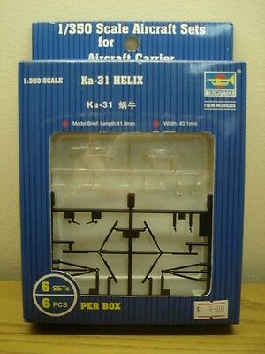 Trumpeter 1/350 Scale Kamov Ka-31 Helix-New Sealed-For Aircraft Carrier-Set of 6