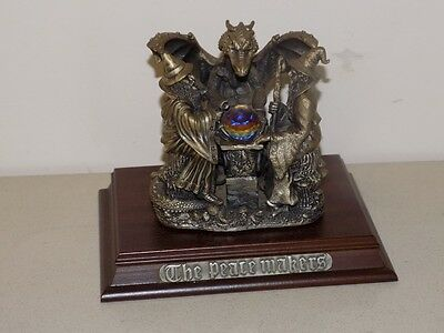 Myth & Magic Tudor Mint 'The Peacemakers' 9014 Pewter Dragon/Wizard Figure Bo