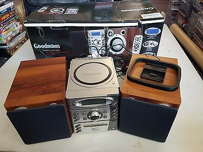 Goodmans Micro Component System Stereo, Tested, Boxed, Trusted Ebay Shop