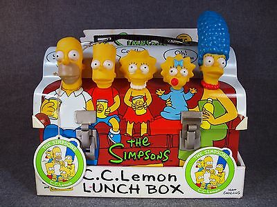 Rare THE SIMPSONS and C.C.Lemon LUNCH BOX Not For Sale JAPAN