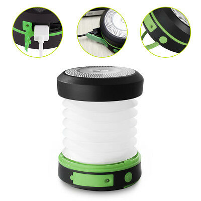 Suaoki Solar Camping Panel LED Lantern Rechargeable Collapsible Light Waterproof