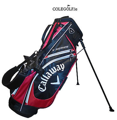 Callaway X Series Stand Golf Bag - Black/Red - 2017