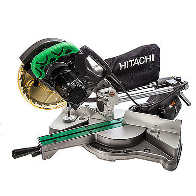 "Hitachi C8Fse 216Mm/8"" Slide Compound Mitre Saw 240V"