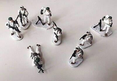 1/72 Fuerzas Montaña Spanish Modern Army Mountain Troops Painted Figures