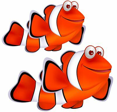 Nemo Fish Movable Wall Stickers