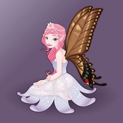 Fairy Movable Wall Stickers with Different Colour Background