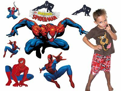 The Amazing Spiderman Movable Wall Stickers