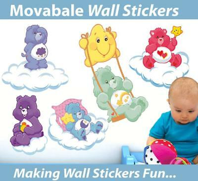 Care Bears Movable Wall Stickers