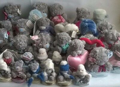 Bundle Of 30 Me To You Tatty Teddy Grey Bears Blue Nose SOME TAGGED Plush Large
