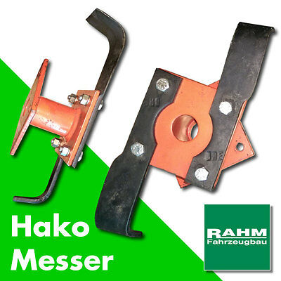 Hako-Messer-Motorhacke Links + Rechts