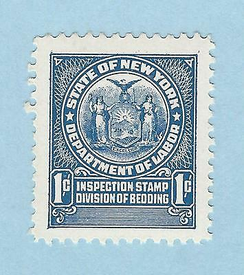 mjstampshobby US State of New York Department of Labour 1c Inspection stamp MNH