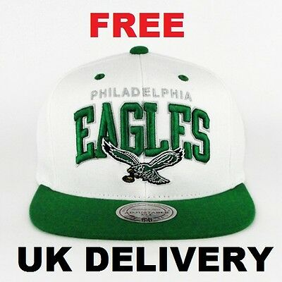 Philadelphia Eagles Snapback Hat Mitchell and Ness