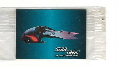 1993 SkyBox  Star Trek Mini Card #20 Ferengi Marauder Sealed