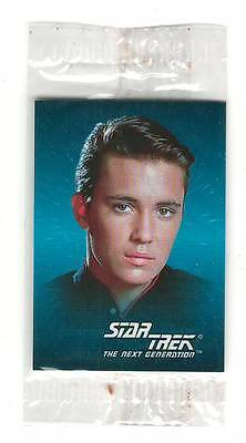 1993 SkyBox  Star Trek Mini Card #9 Wesley Crusher Sealed