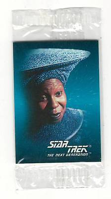 1993 SkyBox  Star Trek Mini Card #8 Guinan Sealed