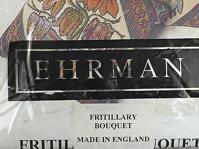 Ehrman Needlepoint Tapestry Flowers WILLIAM BRIGGS 2003 Designed By Janet Haigh