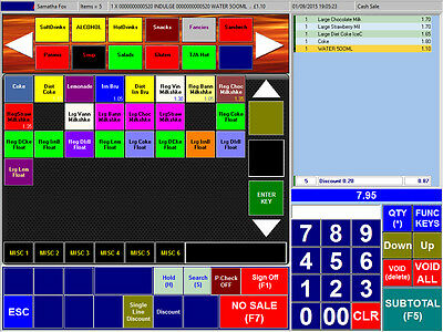 Epos POS iX50Lite Software - Turn your pc into a POS Till System