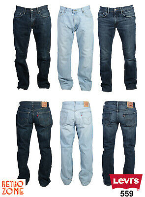 LEVIS 559 RELAXED STRAIGHT LEG JEANS VINTAGE DENIM GRADE A 28 in. to 40 in