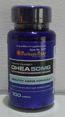 PURITANS PRIDE - DHEA 50 Mg - 100 Caplets - Ebay  Best Price