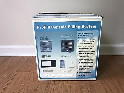 ProFill Capsule Filling Machine System for Pharmacy Compounding