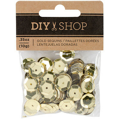 American Craft Diy Shop 4 Collection Sequs Gold