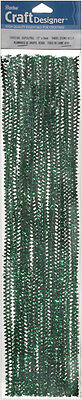 Darice Tinsel Stems 6mm Green