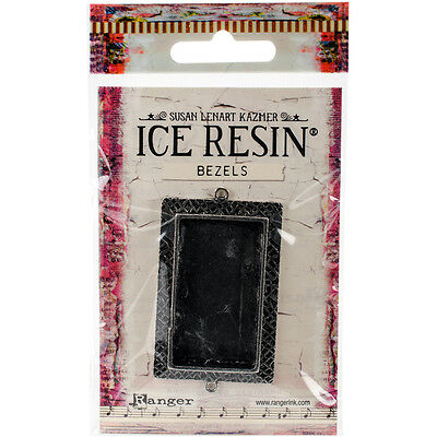 Ranger Ice Resin Milan Bezels Closed Back Rectangle Large