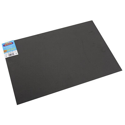 "Darice Foamies Foam Sheet 12""x18"" 2mm  Black  10/Pack"