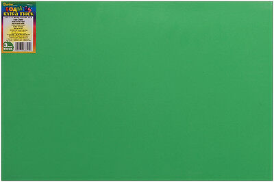 "Darice Foam Sheet 12""x18"" 3mm - Christmas Green"