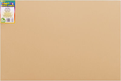 "Darice Foamies Foam Sheet - Tan - 12"" x 18"" - 3 mm Thick - 1 Each"