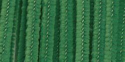 Chenille Stems, 6mm, Emerald Green 25/pack