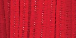"""Darice Chenille Stems-Pipe Cleaners-Red-0.24""""Diameter-12"""" Length-100/ Pack"""